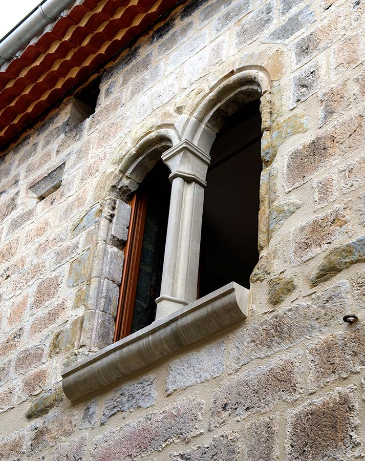 Beautifully restored Venetian window