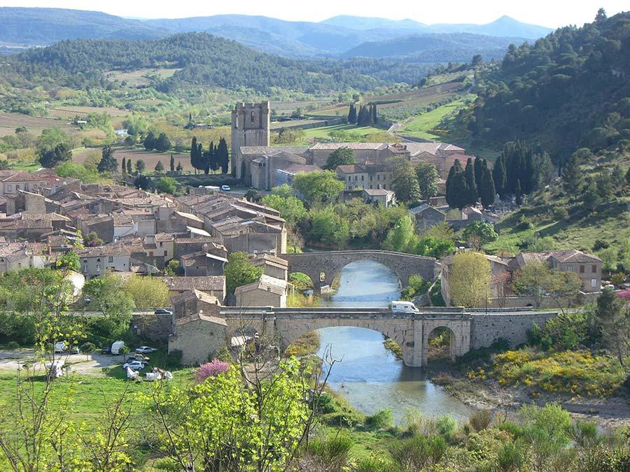 Lagrasse village