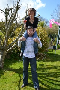 A light-hearted moment socialising in Cornwall, Holiday Lettings France