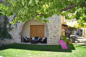 Relax under the shade of the 13th century arch, Holidays in Lagrasse