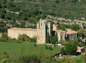 L'abbaye du VIIIème siècle de Lagrasse