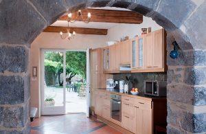 Le «Garden Studio» et sa cuisine spacieuse