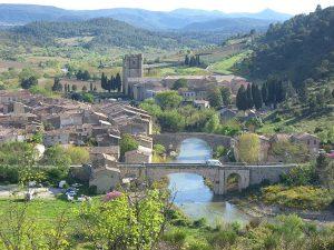 Le village de Lagrasse