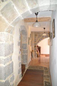 Les arches découvertes pendant la rénovation