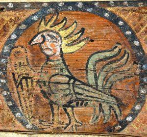 Peinture du coq