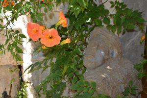 Une des sculptures trouvées dans la maison