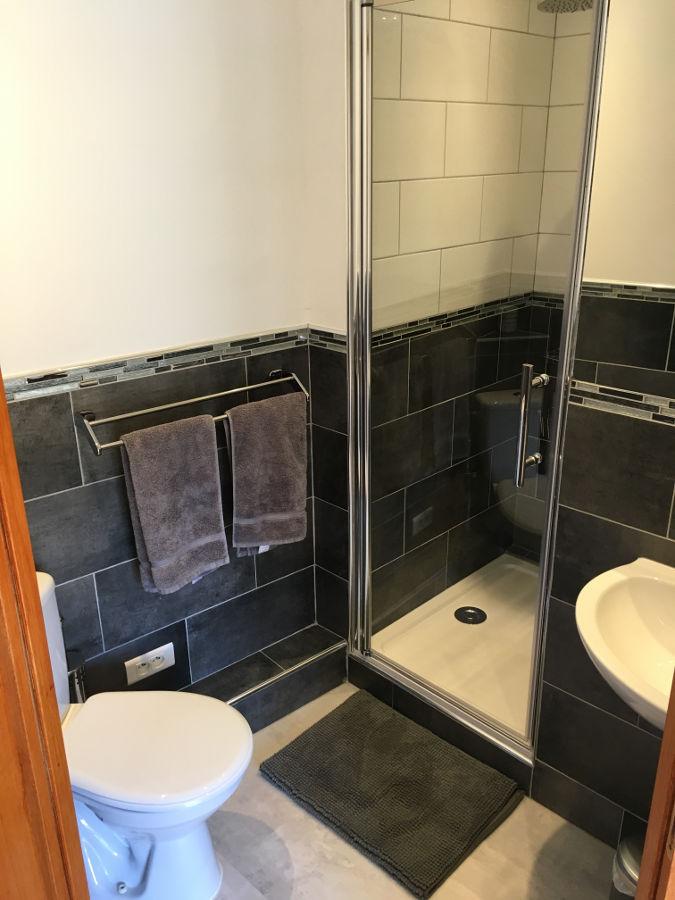 Le Chambre jumeaux cabinet de toilette