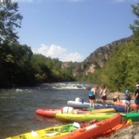 For the brave hearted try kayaking at Roquebrun