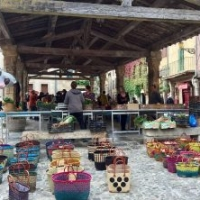 Lagrasse market every saturday