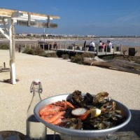 Local seafood at one of our favourite restaurants