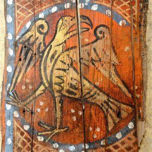 Aigle peint