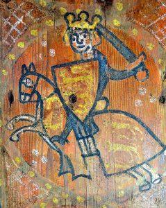 Portrait du roi Jean sans Terre, trouvé dans notre maison